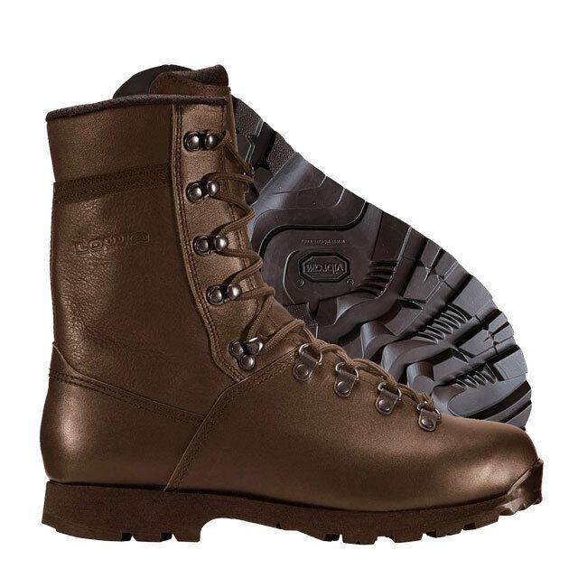 Lowa Elite Light Combat Boots MoD Brown Cadet Boots
