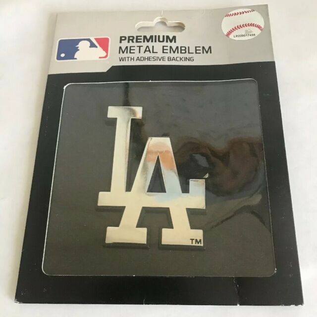 Hall of Fame Memorabilia Los Angeles Dodgers Silver Auto Emblem