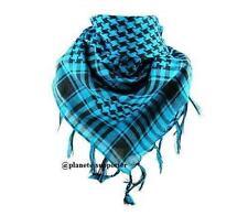 **** PROMOTION **** KEFFIEH BLEU ET NOIR foulard palestinien drapeau palestine