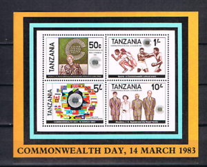 Tansania-1983-Block-32-Commonwealth-Tag-postfrisch