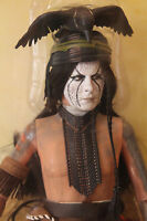 Tonto Lone Ranger Friend 1:6 Scale 12in Figure Old West Disney Johnny Depp Doll