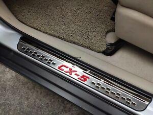 für Mazda CX-5 Zubehör Teile Edelstahl Auto Schutz Einstiegsleisten Türrahmen 19