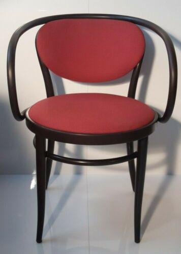 Thonet 210 P/Designklassiker/Bugholzstuhl/Original/Stoffpolsterung/Cafehaus