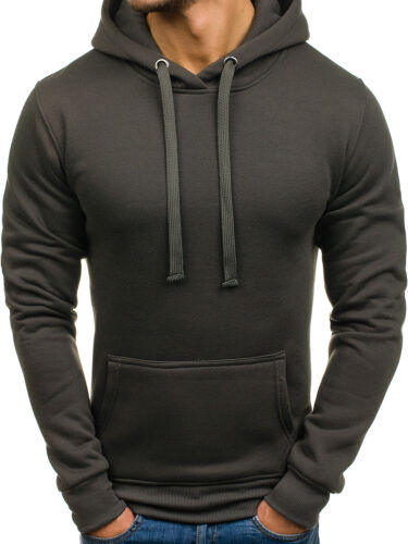 Herren Kapuzenpullover Langarmshirt Sweatshirt Pullover Pulli Mix BOLF 1A1 Motiv
