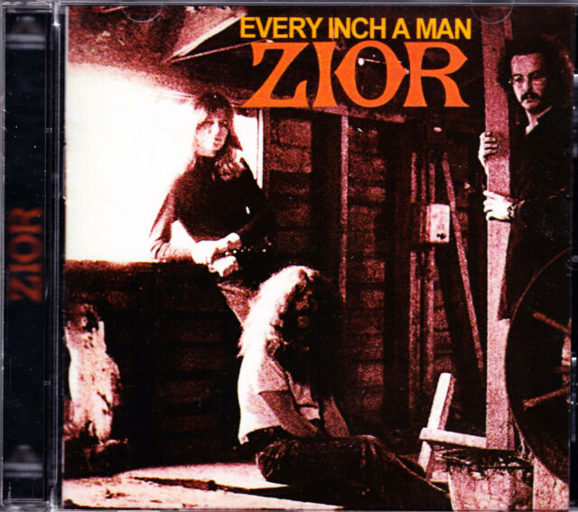 ZIOR every inch a man Remastered CD NEU / NEW
