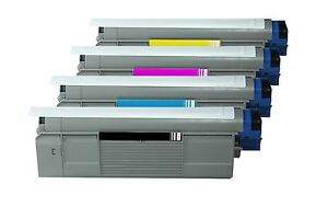 4x-Premium-Toner-pour-OKI-C-822-cdtn-c-822dn-c822n-c-822-Series-XL-Remplissage