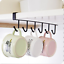 6-Hooks-Metal-Under-Shelf-Mug-Cup-Cupboard-Kitchen-Organiser-Hanging-Rack-Holder thumbnail 7