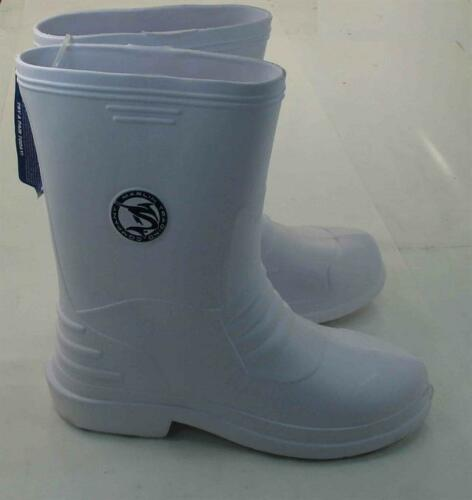 Marlin M688-W-11 White Deck Boots Size 11 16516