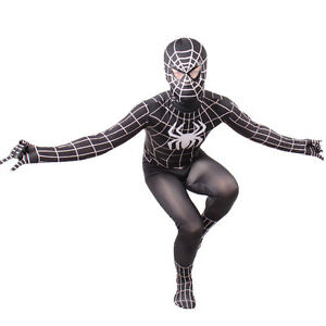 image is loading boys evil black spiderman costume kids halloween child