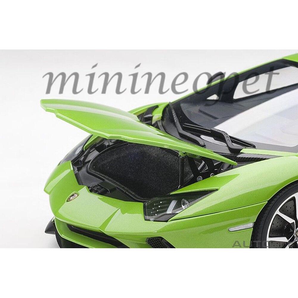AUTOart 79133 LAMBORGHINI AVENTADOR S 1 18 18 18 MODEL green MANTIS   PEARL GREEN 984111