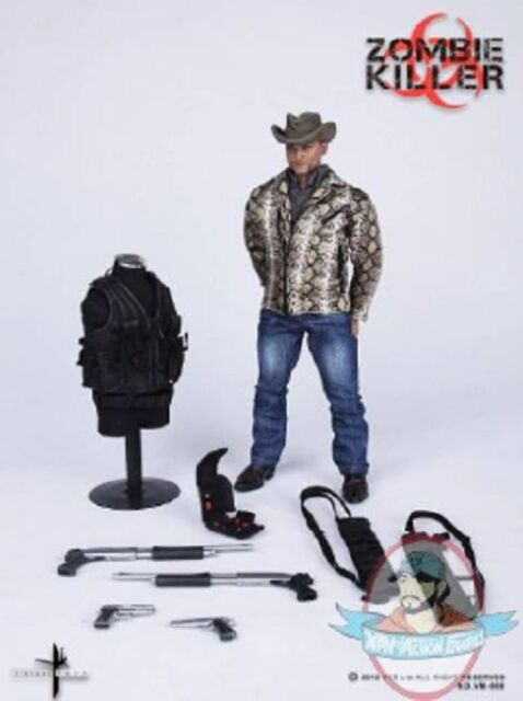 1/6 Scale Zombie Killer Action Figure by Virtual Toys