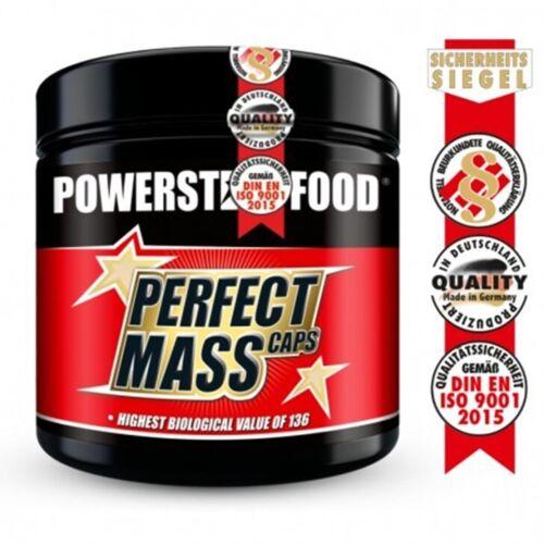 POWERSTARFOOD PERFECT MASS CAPS Aminosäuren Komplex 300 Kaps Bestseller!