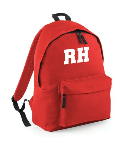 Christmas gift Kids Childs Unisex Backpack Bag Personalised Name OR Initial