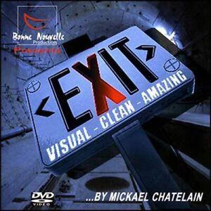 Exit By Mickael Chatelain - Jeux De Prestige Et Magie
