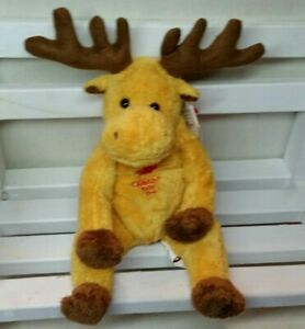 TY Beanie Baby  DOMINION The MOOSE  CANADA DAY EXCLUSIVE  New w/tag protector