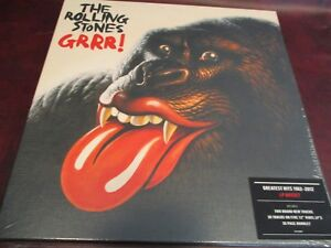 Rolling Stones Grrr Limited Edition Numbered 1512 Five Lp