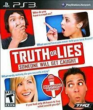 DVD GAMES, Truth or Lies (Sony PlayStation 3, 2010) T - TEEN BLU-RAY DISC