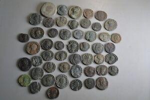 LOT OF 50 BEAUTIFUL ROMAN BRONZE COINS- 6