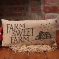 Country Small Decor Pillow / Farm Sweet Farm