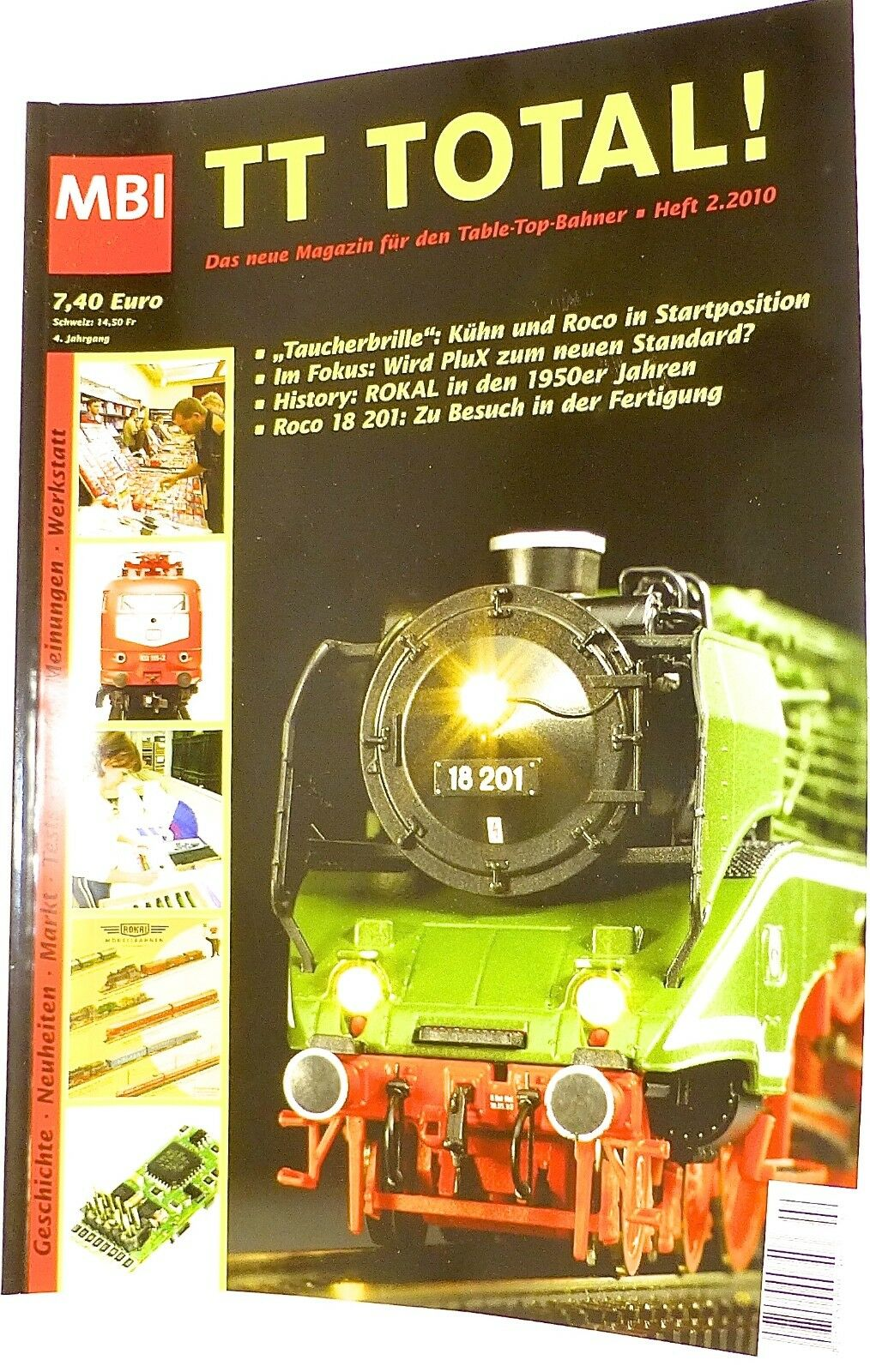TT Total 4te Jahrgang Heft 2.2000 aus 2010 MBI µ