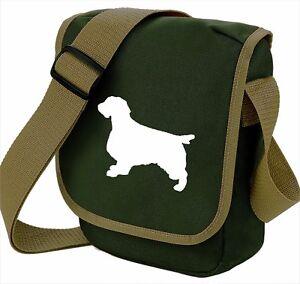 Springer-Spaniel-Bag-for-Dog-Walkers-Shoulder-Bag-Birthday-Gift-free-UK-postage