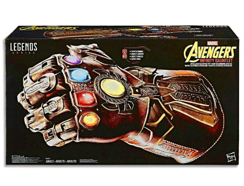 Marvel leggende Avengers INFINITY GAUNTLET articolato elettronico PUGNO THANOS NUOVO