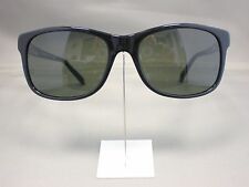 Original Mont Blanc Sonnenbrille MB 365 S Farbe 01N schwarz Leder
