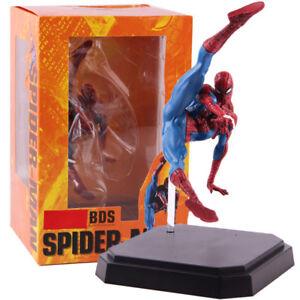 BDS-Schlacht-Diorama-Serie-SPIDER-MAN-PVC-Action-Figur-Sammlerstueck-Modell-Spielzeug