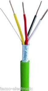 100m (0,32€/m.) KNX EIB BUSLEITUNG EIB-Y(ST)Y 2X2X0,8 grün Kabel Installation