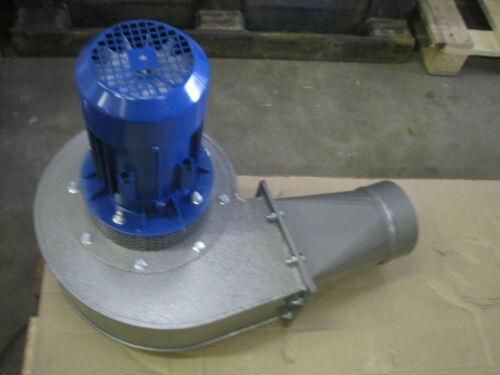 Haute température industrielle Souffleur 2500m3//hr 1.1 kW 230 V 250 DegC centifugal