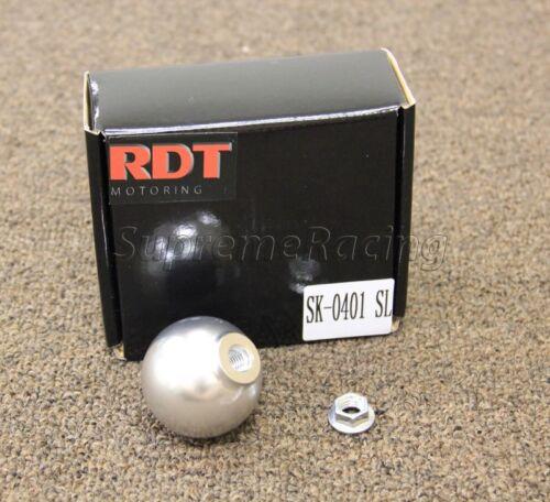 RDT SILVER BALL SHIFT KNOB FOR HONDA CIVIC CRX EF EG EK DEL SOL EM EJ EM2 SI R