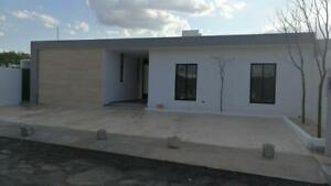 Casa de una sola planta ,Entrega inmediata!! col. Dzitya , Mérida Yucatán