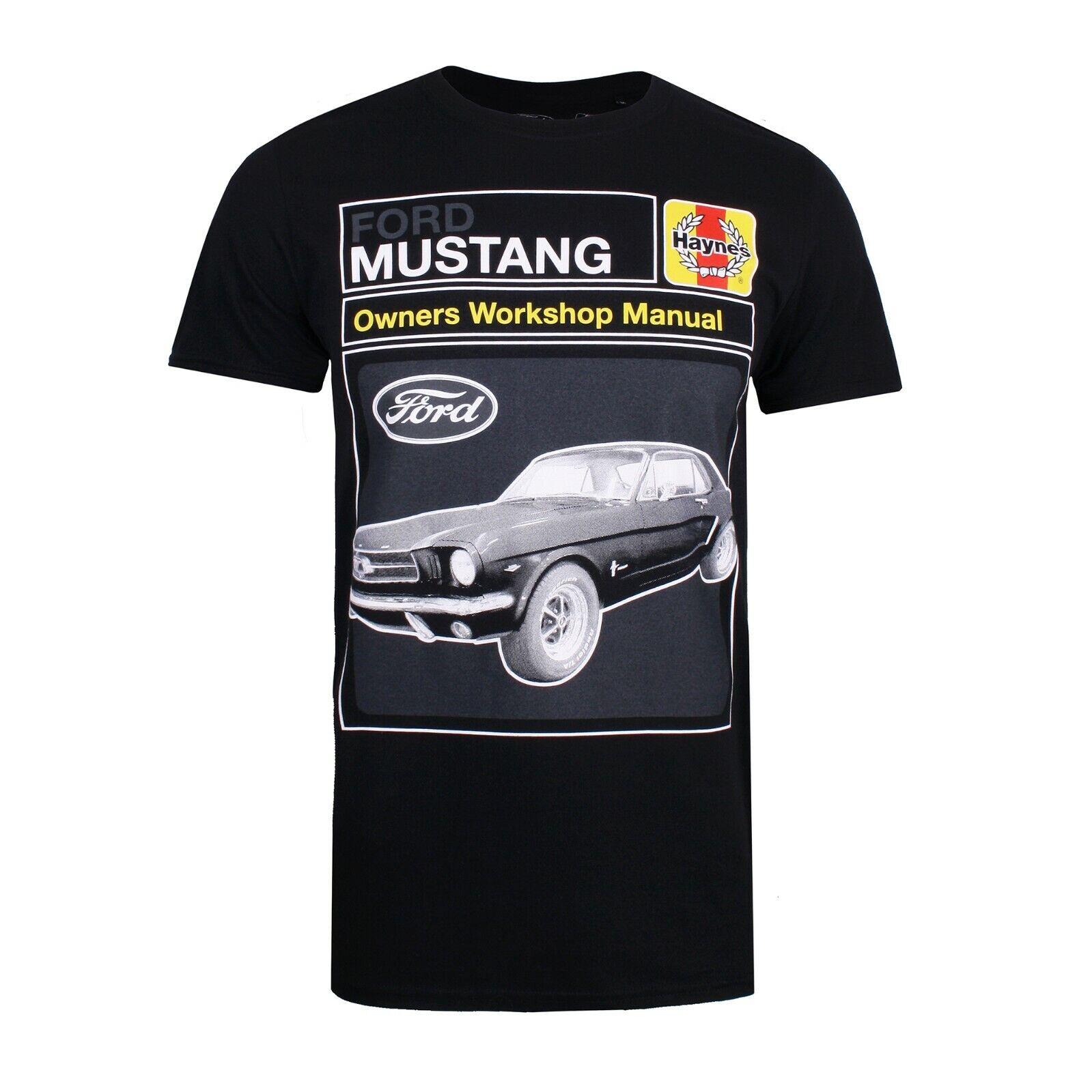 Ford Mustang workshop Black