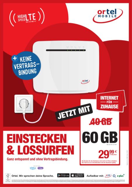 Wlan Router Sim Karte.Internet Fur Zuhause Wlan Router Prepaid Sim Karte Mit 40 Gb Lte