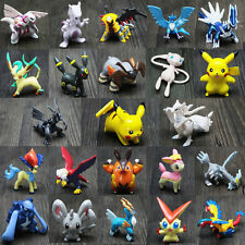 72pcs/lot Mini 2-3cm random Pearl action Figure Figurine Lots Pokemon PVC Toy