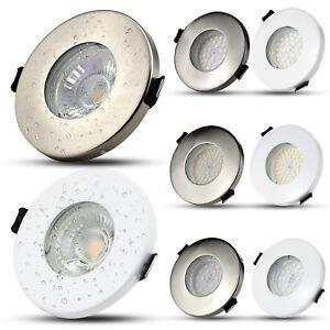 4X-IP65-Spot-Encastrable-GU10-LED-Encastre-Plafonnier-Plafond-Salle-de-bain-Lamp