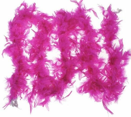 Womens Ladies Girls Luxury Feather Burlesque Boa 195cm 80g Fancy Hen Night Party