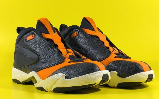 Jordan Jumpman Quick 23 'Black Orange Peel' Men's Shoes Size 11.5 [AH8109-008]