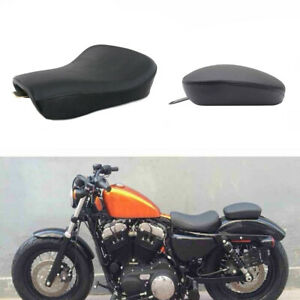 XMT-MOTO Rear Passenger Seat Pillion Cushion For Harley Sportster Iron 883 Nightster 1200 Replace number: 51744-07A
