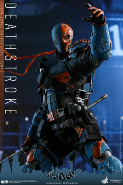 Toys VGM 30 Hot Batman Arkham Origins Deathstroke 1//6 12 Pollici Figura Nuovo
