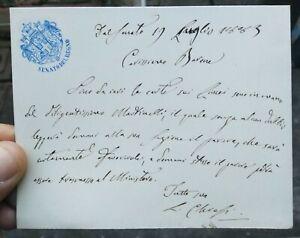 1883-193-RARO-MANOSCRITTO-SENATORE-LUIGI-CHIESI-DI-REGGIO-EMILIA-RISORGIMENTO