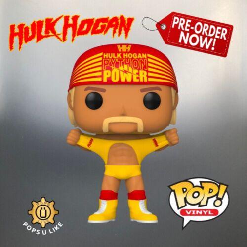 Hulk Hogan Funko Pop Vinyl Hulkamania Wrestlemania III WWE WWF