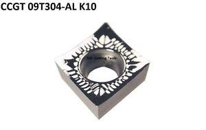 10-Wendeschneidplatten-CCGT-09T304-AL-K10-fuer-Alu-Kunstoff-usw-mit-Rechnung