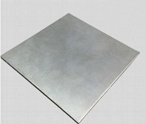 1PC  Titanium plate Ti Titan Gr.2 ASTM B265 Plate Sheet 1 x 100 x 100 mm # GY