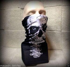 Haube Totenkopf Ghost Schädel Airsoft Paintball Motorrad Ski Maske Halsband
