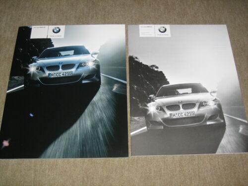 BMW 5er m5 e60 Limousine prospetto brochure di 2//2004 60 PAGINE LISTINO PREZZI