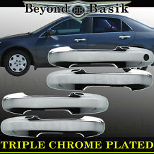 2003-2007 Honda Accord 4Dr Sedan Chrome Door Handle Covers Overlays Trims