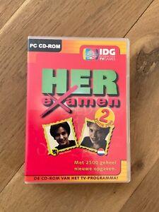PC Herexamen 2 Editie 2000 IDG interactive TV games