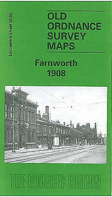 OLD ORDNANCE SURVEY MAP Farnworth 1908: Lancashire Sheet 95.06