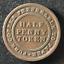 Canada-1813-Half-Penny-Token-Un-Sou-NS-21A3-Breton-965-J-029 thumbnail 1